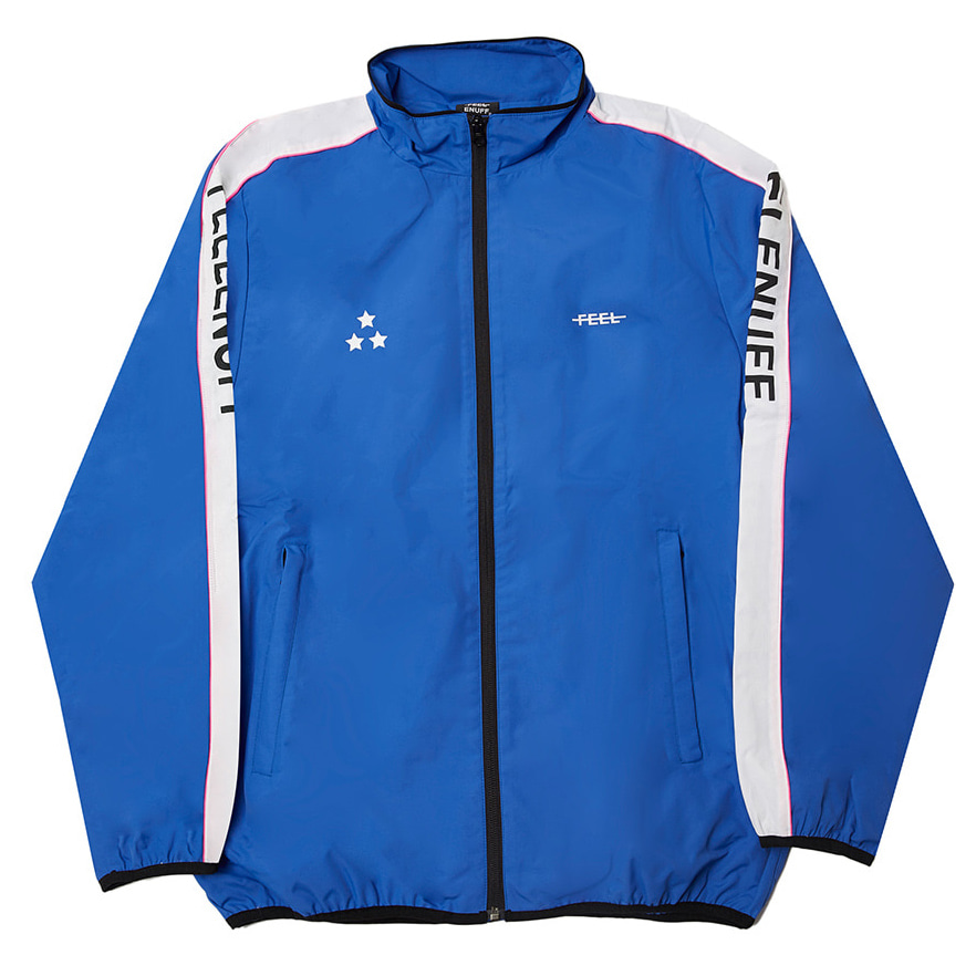 [필이너프]PIPING TRACK JACKET BLUE