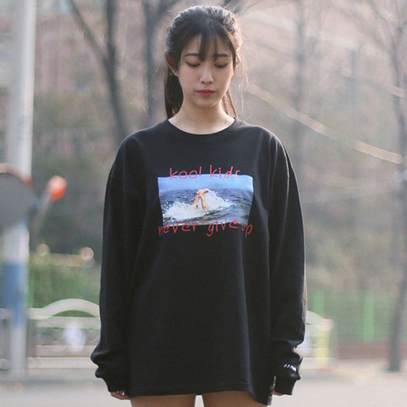 [패티즘]FTSHM KOOL KIDS LONG SLEEVE BLACK