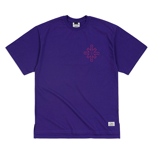 [스티그마]STIGMA DESTROYER OVERSIZED T-SHIRTS VIOLET