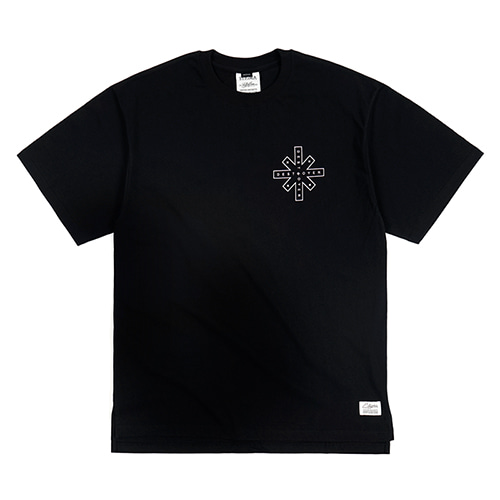 [스티그마]STIGMA DESTROYER OVERSIZED T-SHIRTS BLACK