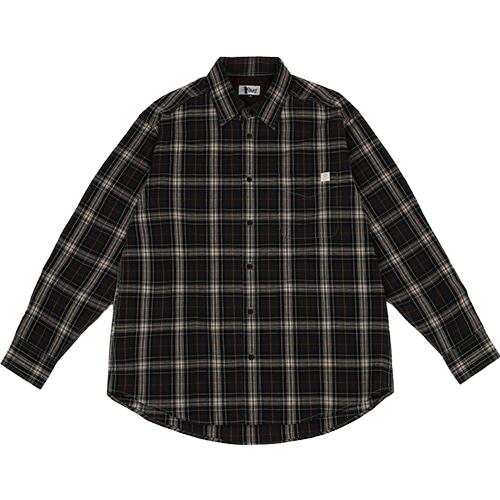 [아이즈스케이트]AIZ CHECK SHIRTS - BROWN