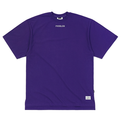[스티그마]STIGMA PROBLEM OVERSIZED T-SHIRTS VIOLET