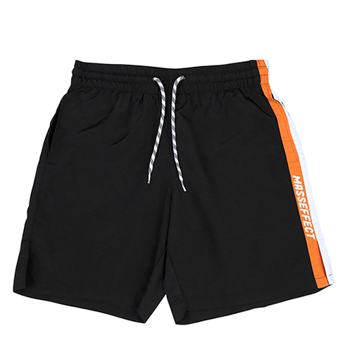 [랑데부] MASSEFFECT SURF SHORT BLACK