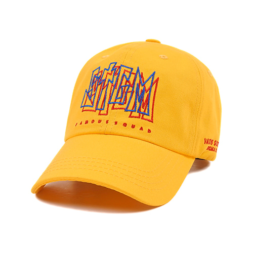 [스티그마]STIGMA PRIZM BASEBALL CAP YELLOW