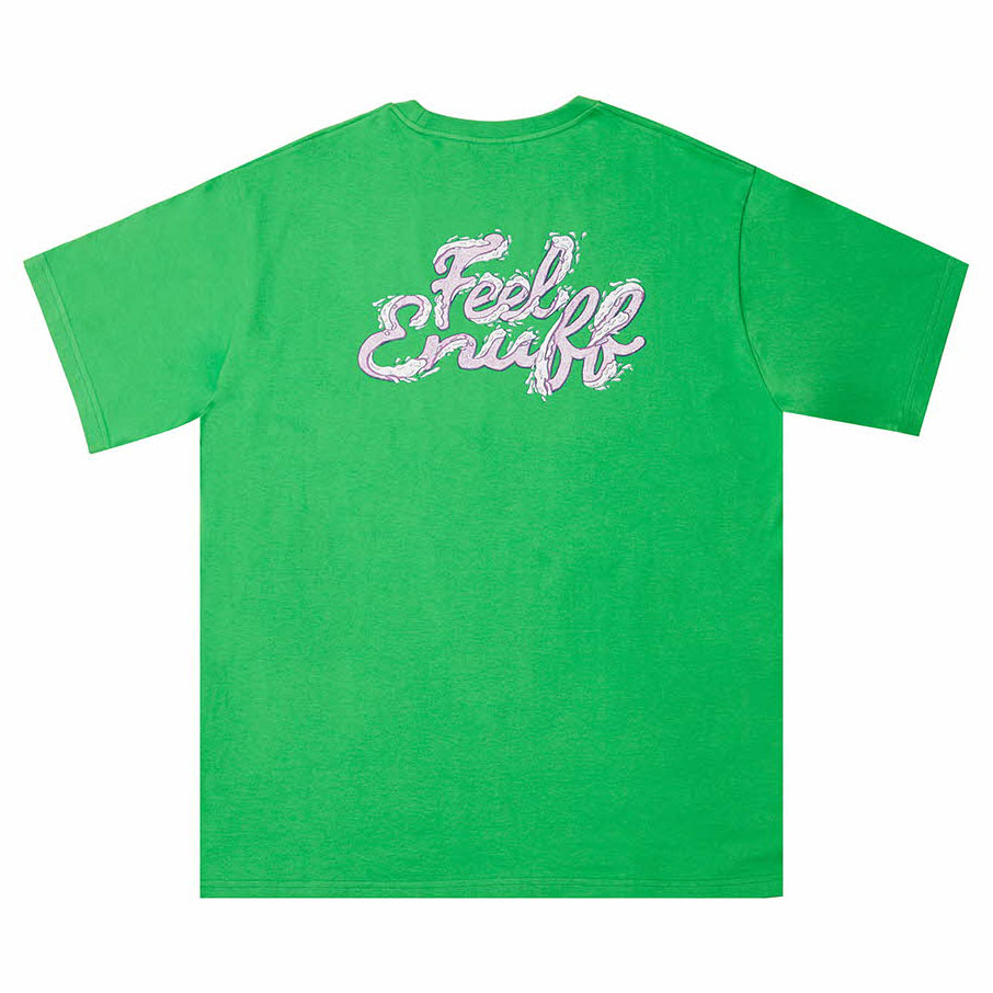 [필이너프]WAVE T-SHIRTS GREEN