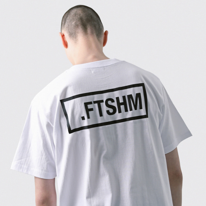 [패티즘]FTSHM BOX LOGO TEE WHITE