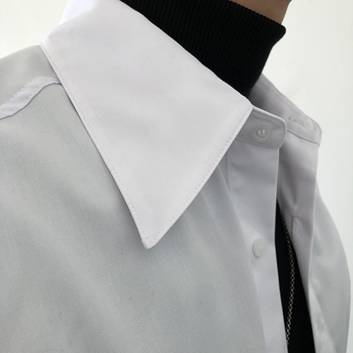 [4BLESS][6차 재입고] 빅카라 Shirts White