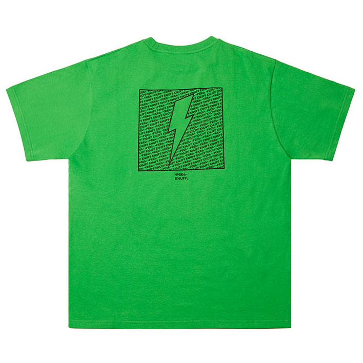 [필이너프]THUNDER T-SHIRTS GREEN