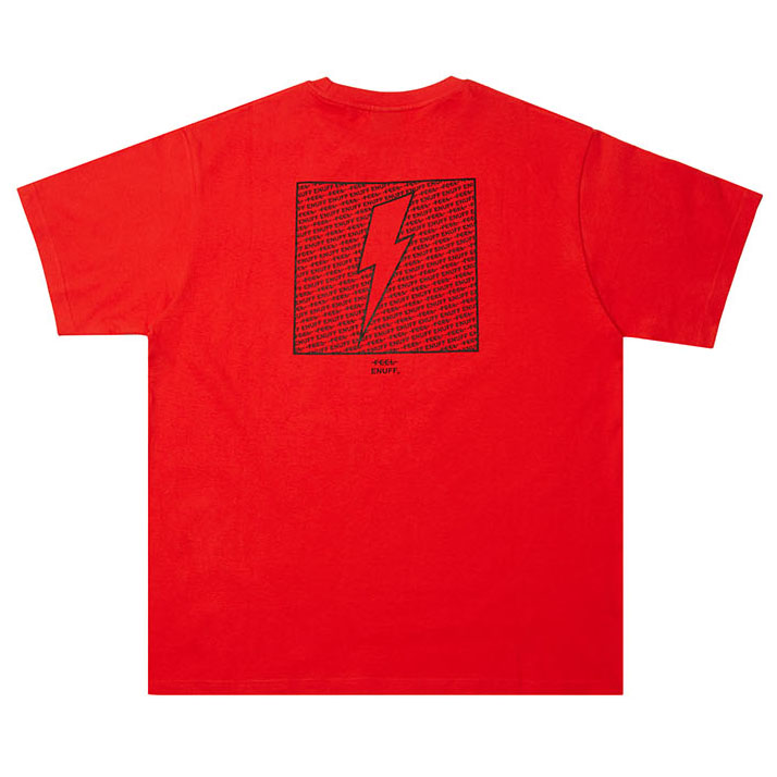 [필이너프]THUNDER T-SHIRTS RED