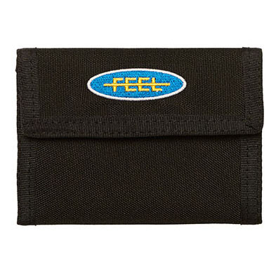 [필이너프]PATCH WALLET BLACK