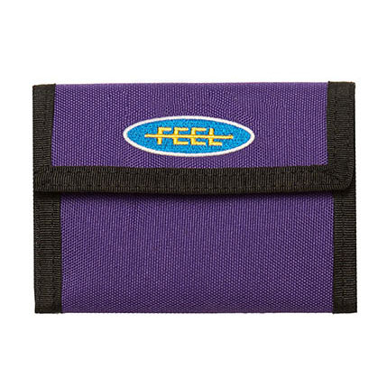 [필이너프]PATCH WALLET PURPLE