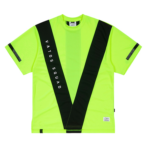 [스티그마]STIGMA VS COOLON OVERSIZED T-SHIRTS NEON GREEN