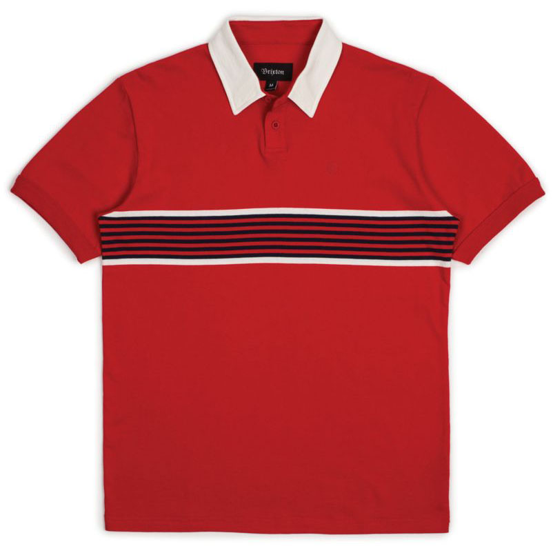[브릭스톤]TIPTON S/S POLO  RED