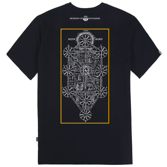[낫포너드]Kabbalah T-Shirts Black