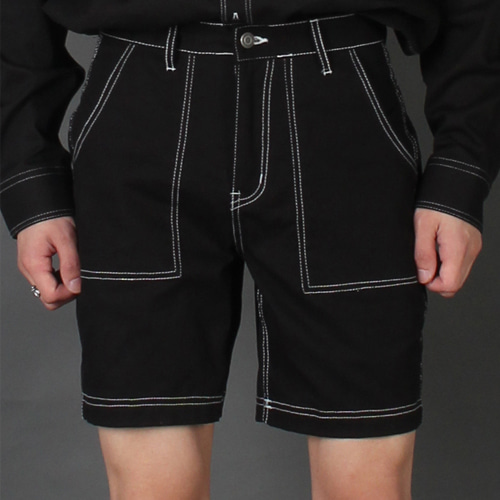 [테이크이지]STITCH SHORT PANTS