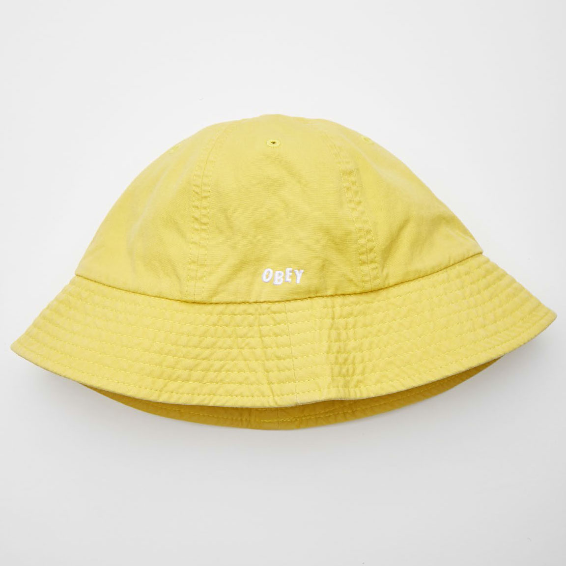 [오베이]DECADES BUCKET HAT - PALE YELLOW