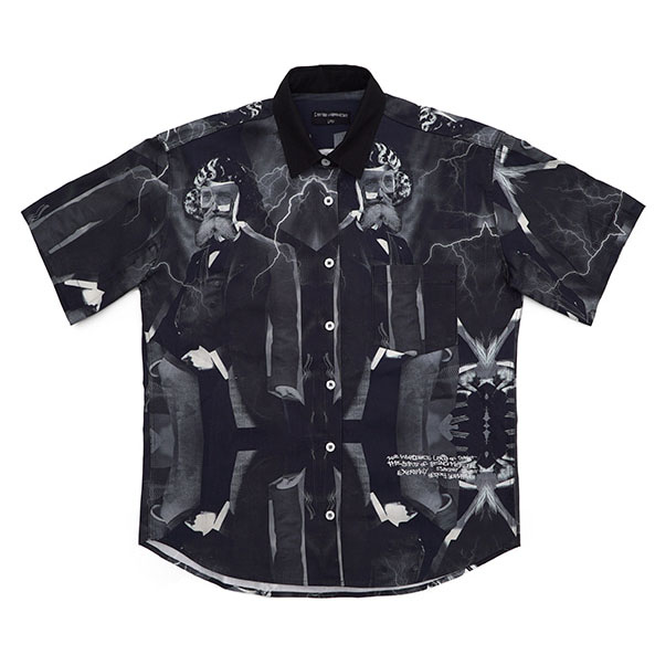 [아임낫어휴먼비잉][18SS] MADNESS BOWLING SHIRTS - BLACK