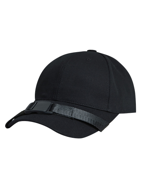 [이브이디엔씨]BELT BALL CAP (BLACK)