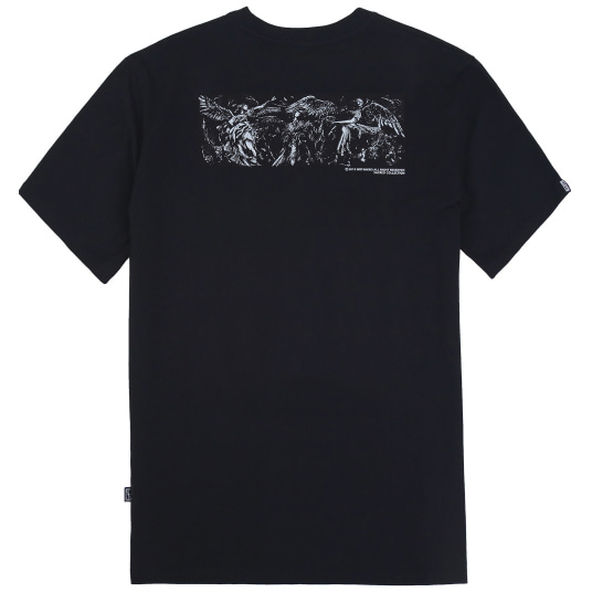 [낫포너드]The Three Angels T-Shirts Black