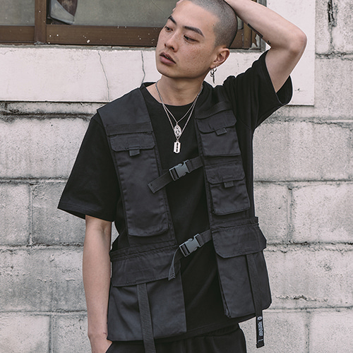[크럼프] Tech flavor top flight vest (TO0001)
