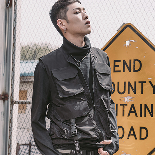 [크럼프] Tech flavor super prime vest (TO0007)