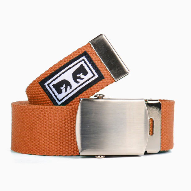 [오베이]BIG BOY WEB BELT - DUSTY ORANGE 벨트