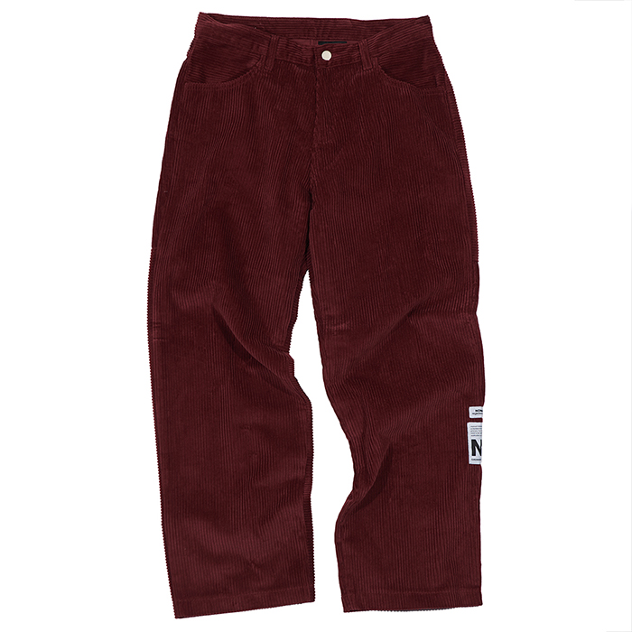 [노매뉴얼]NM HEAVY CORDUROY PANTS - WINE