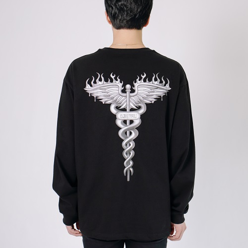 [0.387AU] Herems Long Sleeves Black