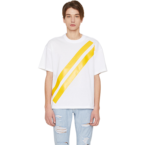 [랩 101]LI1WTS06YE YELLOW FREEDOM STRIPE T-SHIRTS