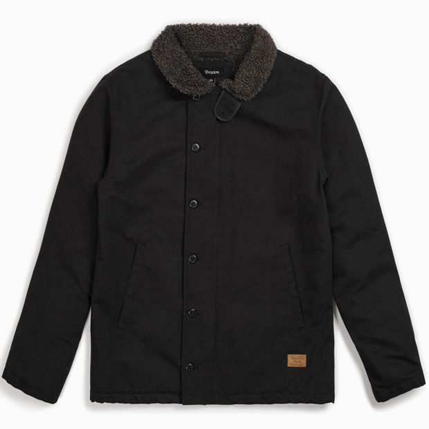 [브릭스톤]MAST JACKET - BLACK/BROWN