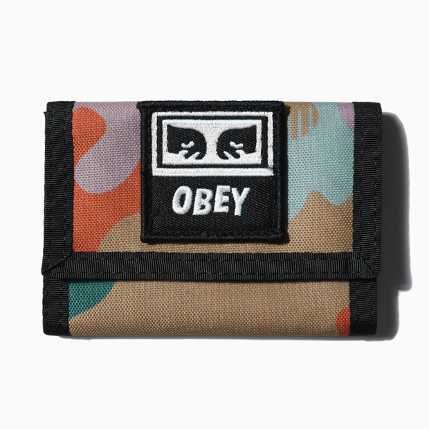 [오베이]DROP OUT TRI FOLD WALLET - DRIP CAMO 지갑