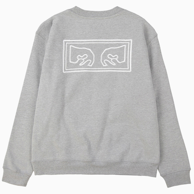 [오베이]OBEY EYES HEAVY CREW - ATHLETIC HEATHER GREY