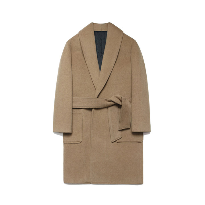 [라퍼지스토어]Wool robe Coat_Rich Beige