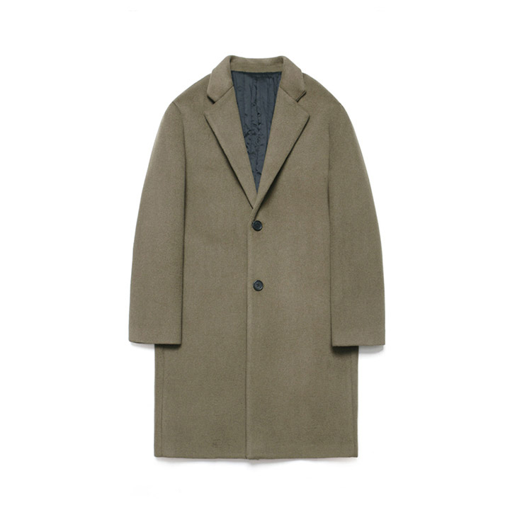 [라퍼지스토어]Wool Single Coat_Major Brown
