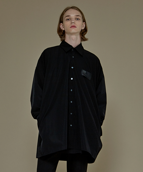 [에드]AVANTGARDE POCKET SHIRTS BLACK