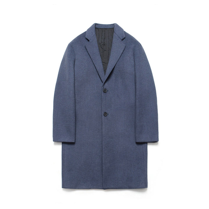 [라퍼지스토어]Wool Single Coat_Royal Navy