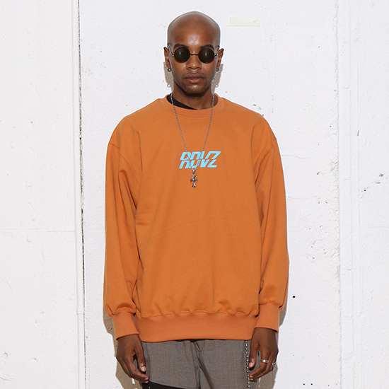 [알디브이제트] RDVZ SWEAT TOP BROWN