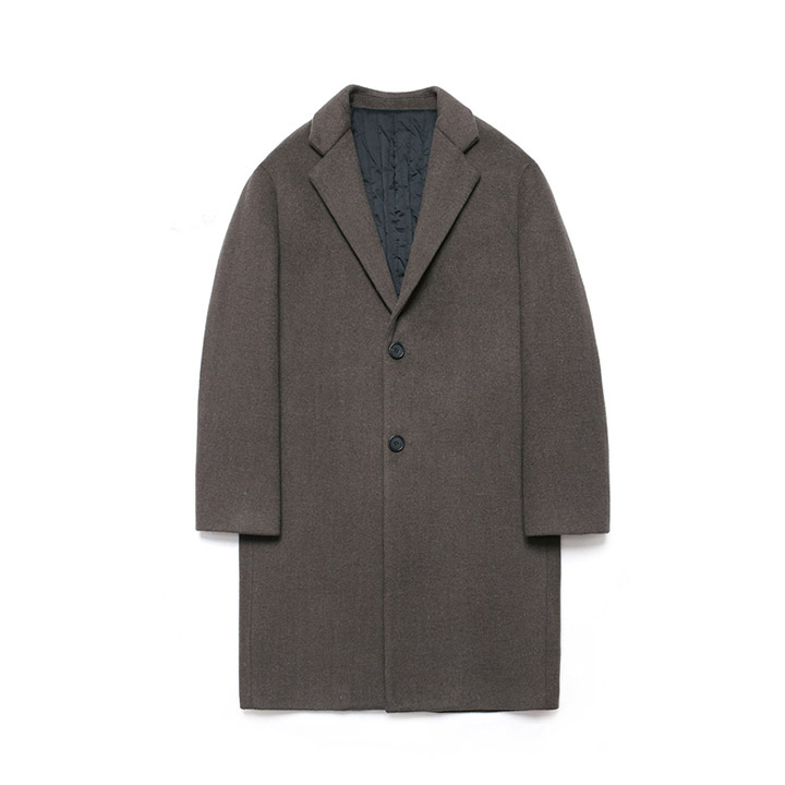 [라퍼지스토어]Wool Single Coat_Fig Bean
