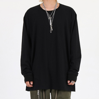 [이노반트]basic long sleeve (black)