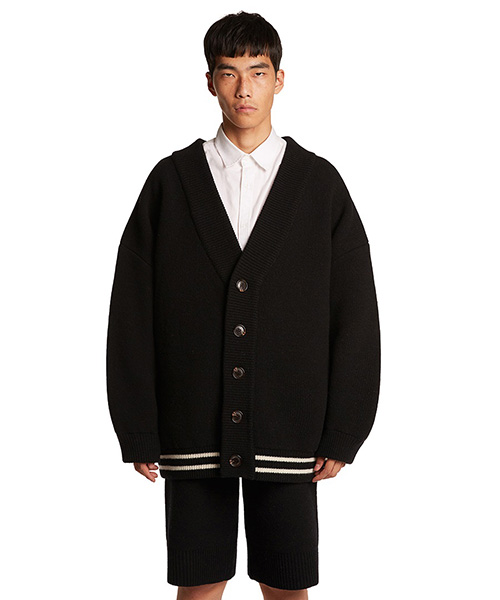 [트렁크프로젝트]Classic Wool Cardigan Jacket black