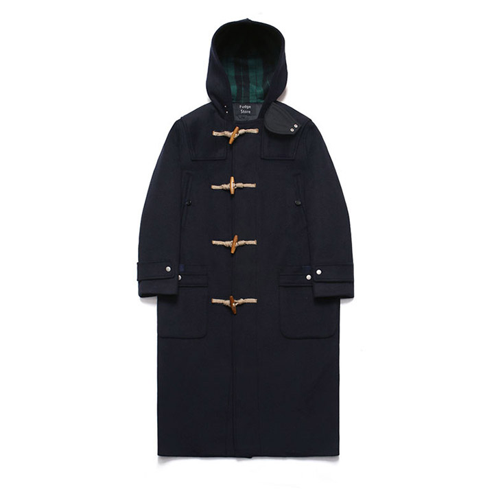 [라퍼지스토어]Wool Over Long Duffle Coat_Dusky Navy