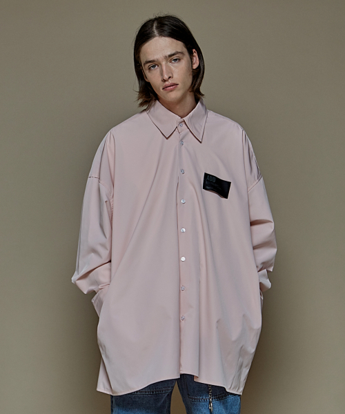 [에드]AVANTGARDE POCKET SHIRTS PINK