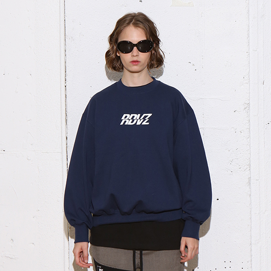 [알디브이제트] RDVZ SWEAT TOP NAVY