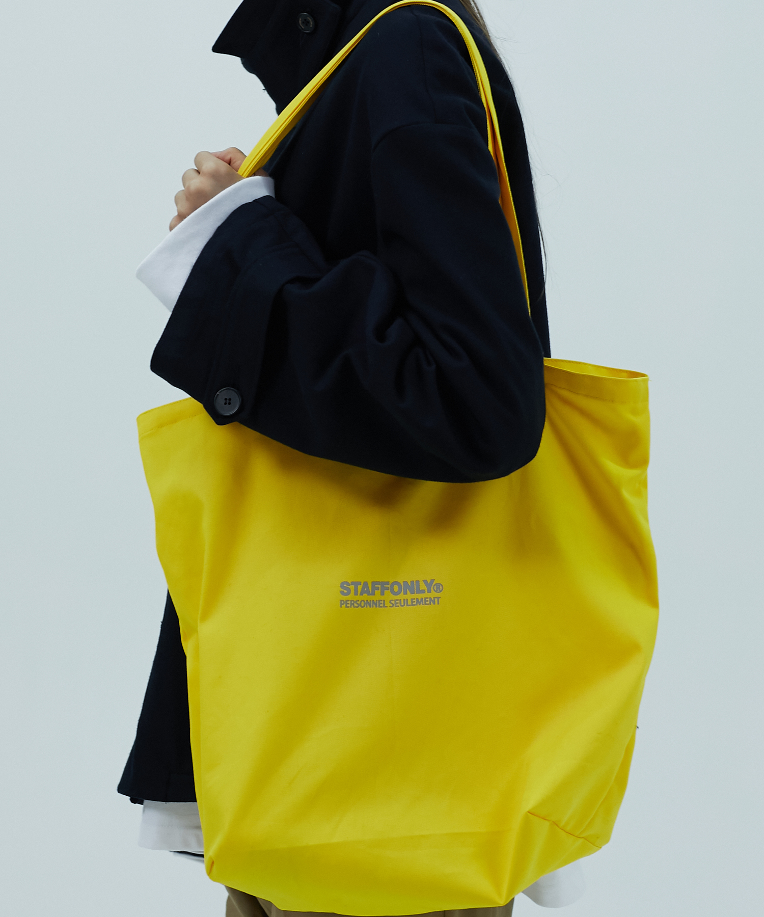 [스텝온리]10L GARBAGE BAG (YELLOW)