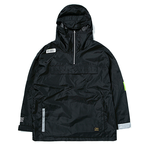 [스티그마]STIGMA [예약발송10월 26일]TIGER OVERSIZED ANORAK JACKET BLACK