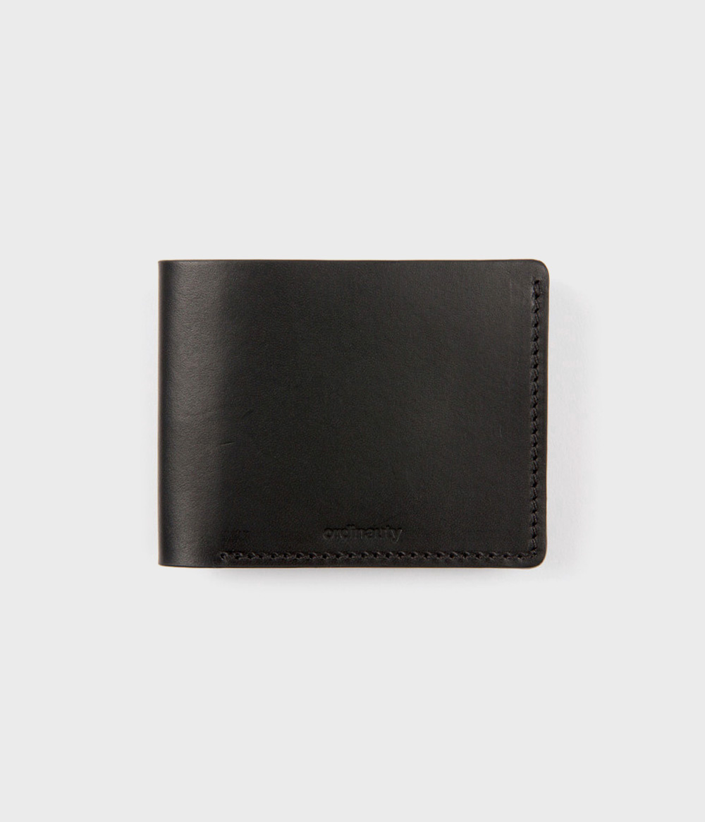 [오디너티]CON PANNA BLACK (Buttero, Italy vegetable leather)