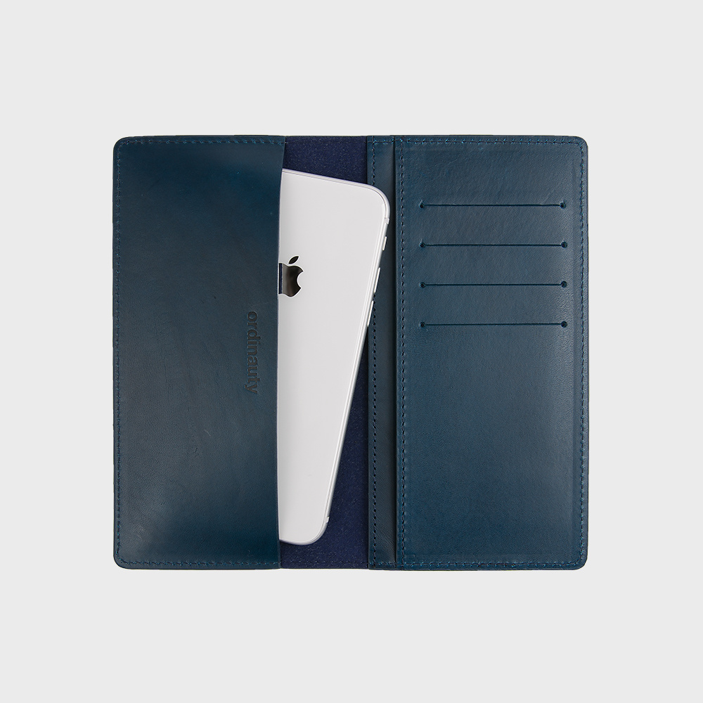 [오디너티]AMERICANO NAVY (Buttero, Italy vegetable leather)