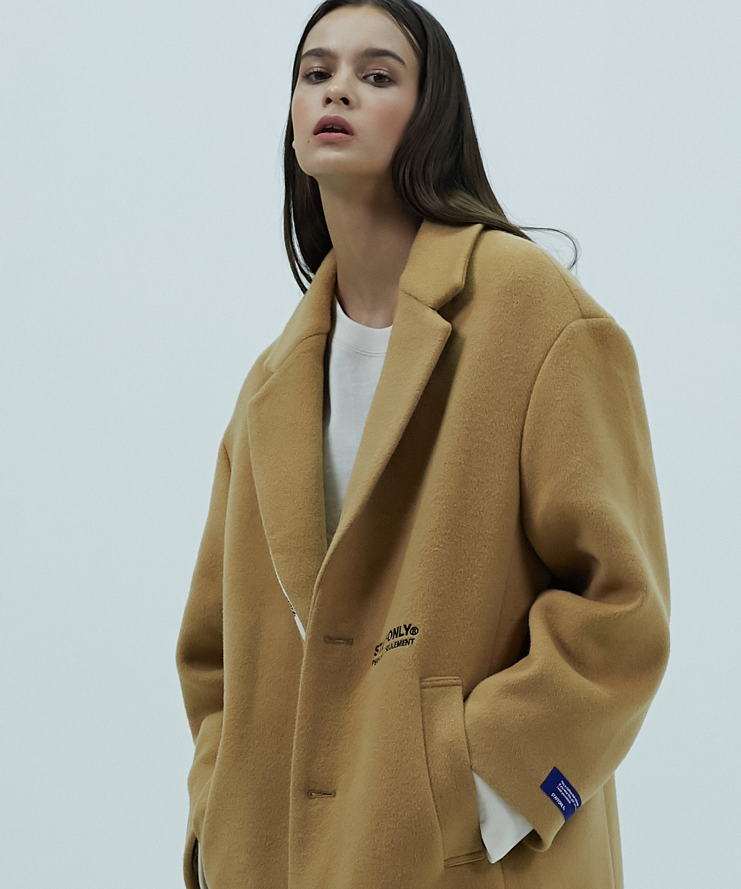 [스텝온리]SHOELACE COAT (BEIGE)
