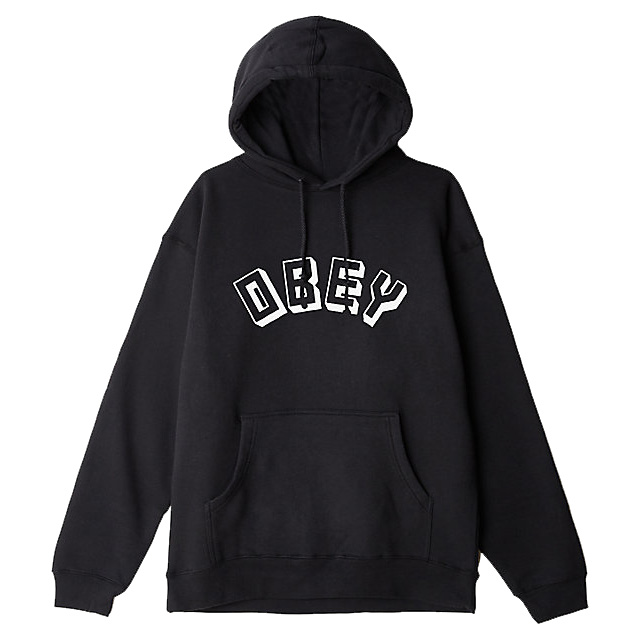 [오베이]OBEY NEW WORLD - BLACK 후드