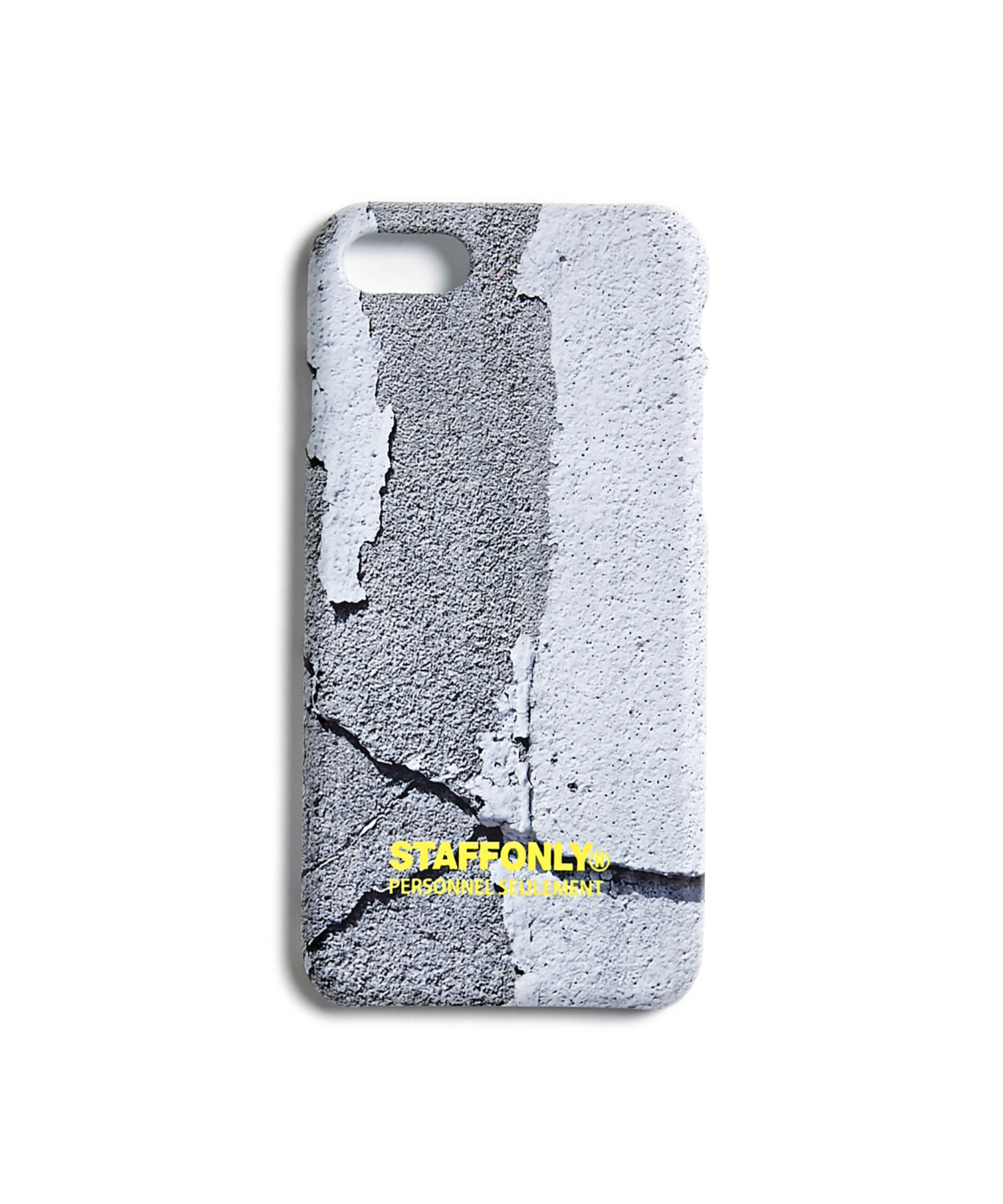 [스텝온리]CONCRETE PHONE CASE (GRAY)